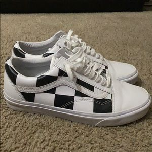 Classic checkered vans